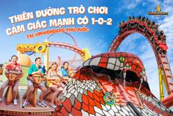 Nếu bạn không sợ cảm giác mạnh, hãy đến Vinwonders Phú Quốc