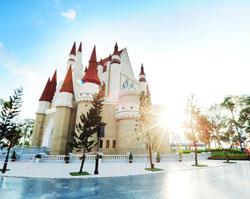 Lạc vào thế giới cổ tích tại khu lâu đài trung tâm